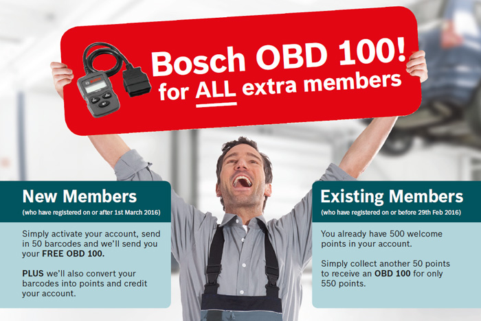Double points on Bosch Spark Plugs & Glow Plugs